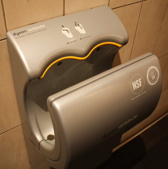 Air Dryers in Public Toilets