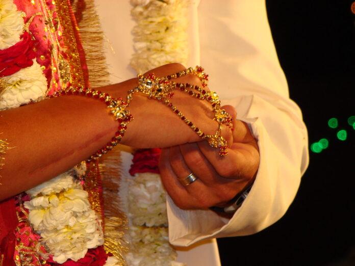 Bizarre Indian wedding