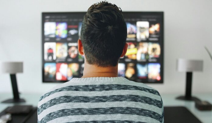 Binge-watching TV